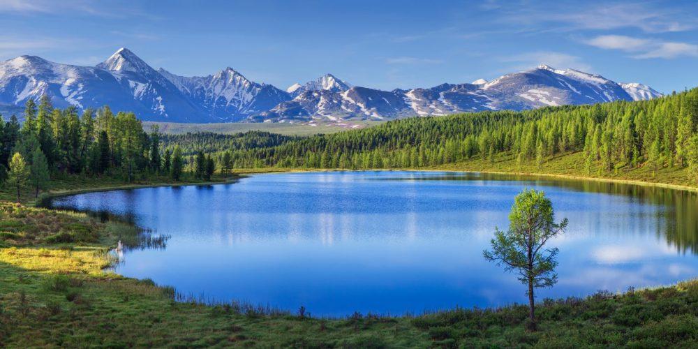 Mountain,Landscape,,Lake,And,Mountain,Range,,Large,Panorama,,Altai